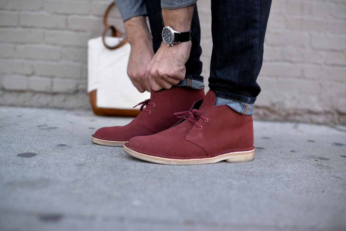A Day in Clarks Desert Boots