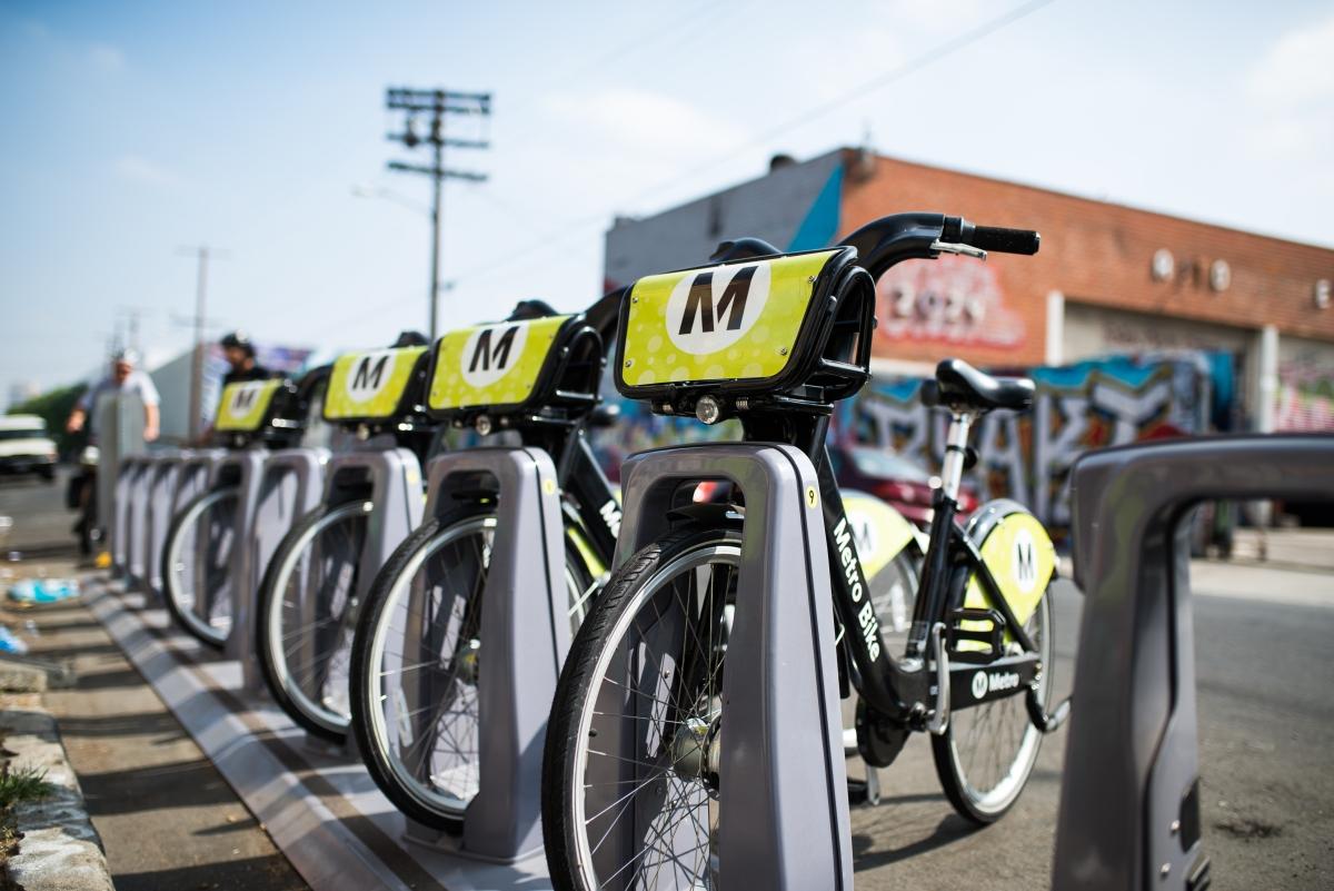 Metro Bike LA!